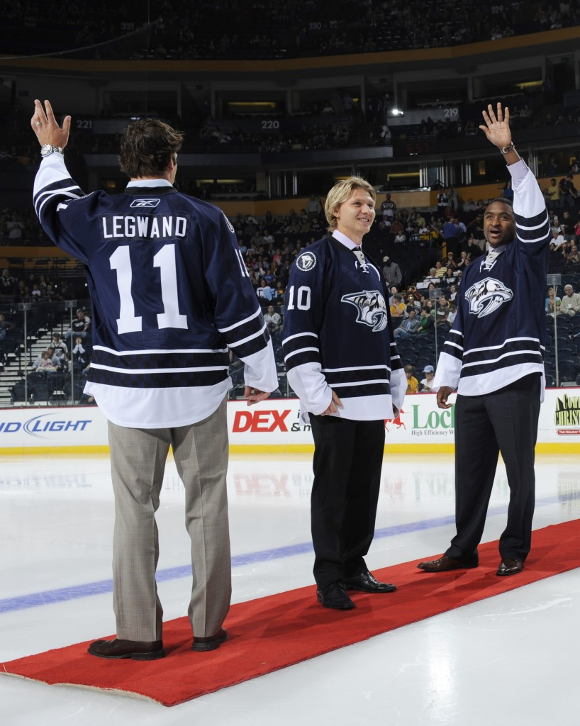 Third jersey at Center Ice - Credit: John Russell/Getty Images