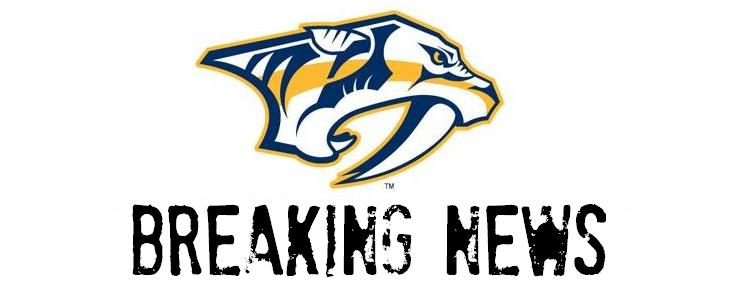 Preds breaking news